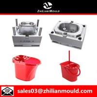 Mop inyección molde cubo de plástico de alta calidad.