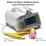 Máquina de tratamiento láser de poliartritis de rodilla torcida de 1000 mW de uso clínico