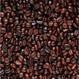 Arábica y café Robusta frijoles, granos de café verde