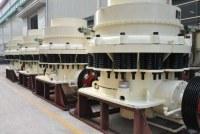 La trituradora de cono / máquina trituradora giratoria es trituradora de piedra para la venta