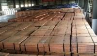 Cátodos de cobre (Cu) 99,99%, mínimo; 99,97% a la venta