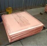 Catódicos de cobre electrolítico de alto grado 99.99% 99.97%