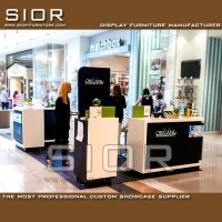 Mall Center Cosmetic Kiosk OC-HZ002