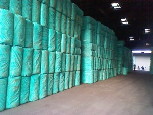 Cotton Fiber in bales