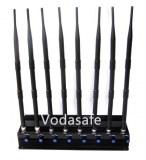 Adjustable Stationary 6bands Car GPS Signal Blocker for All GSM,CDMA,3G UMTS 4glte Mobl...