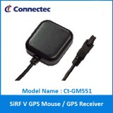 Ct-GM551 SiRF V GPS RS232 Car GPS Mouse receiver