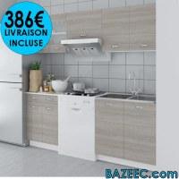 Meuble de cuisine aspect chêne 5 pcs LIVRAISON GRATUITE