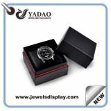 Logotipo personalizado impreso cajas de regalo de papel reloj, casos de pulseras de papel, cajas...
