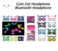 Lindo gato auriculares