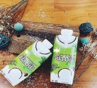 ORGANIC COCONUT WATER or MILK with TROPICAL JUICES