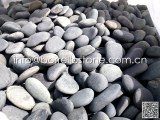 Flat Mexican pebbles stone