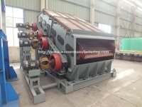 Dul-frequency vibrating screen for stone crusher, linear vibrating screen price for sale