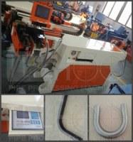 Máquina de plegado hidráulico de tubos de acero