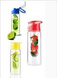 Botella de agua sj32-TRITAN fruta material infusor con fácil llevar tapa BPA libre 700ML