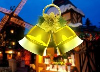 Colorful Led String Bell Light for Christmas Decoration