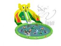 Hot seller commercial grade inflatable water slides for kids and adults
