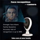 Detección facial de la cara de la cámara detección de la alarma de seguridad inteligente del hogar