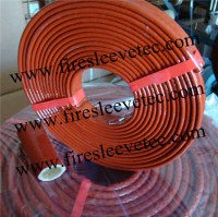 BST Fiberglass Fire Sleeve Fire Braid Flame Shield