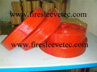 BST Good Quality Red Hose And Cable Fire Resistant Sleeving
