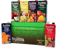 Zumo de frutas FRUITTIS tetra brick 12 x 1L