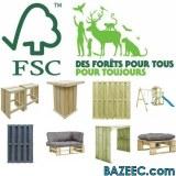 Mobilier Label environnemental FSC