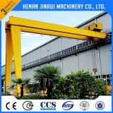 Semi-gantry crane price made in china facotry