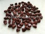 Red pebble stone