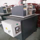 Gantry pelletizer for plastic extruder