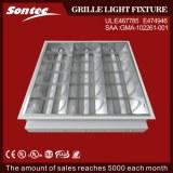 UL Fluorescent t8 fixture ceiling Indoor grille light