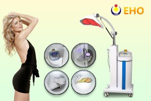 New PDT 7 color photon led light!!led therapy with led light system HK8 led machine