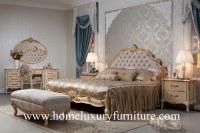 Rey Bed de los conjuntos de dormitorio y diseño real moderno de los aparadores popular...