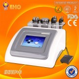 IHRU+6 multipolar rf ultrasound cavitation laser body and facial slimming beauty machine