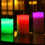 Remote Control Color Changing LED Flameless Candles/LED Candle (HD-WCL-002)