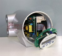 Electromagnetic flow meter with remote transmitter flowmeter