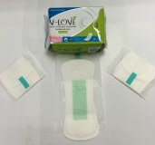 OEM functional sanitary napkin with mint ozone