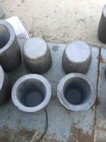 Creusete en graphite (Aluminium-Or-Argent-Cuivre)