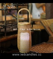 Lantern Type and Home Decoration handmade bamboo candle holders