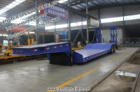 80/70/60 T 2/3/4 muti-axles lowboy/low bed trailer with air/pneumatic suspensionNEW80/7...