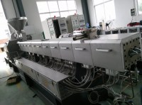 PE/PP/ABS/PVC filler with calcium carbonate/CaCO3 plastic extruder machine
