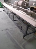 Water bath/trough strand for extrusion