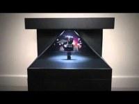 270°; 3D Pyramid Hologram Showcase