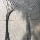 Malla de cable de alambre de acero inoxidable flexible 316 para recinto zoológico