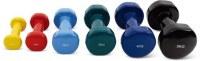 38/5000 Dumbbells de vinilo de accesorios de fitness