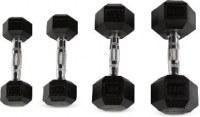 Goma Hex Dumbbells de accesorios de fitness