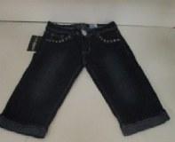 Lot de jeans et pantacourts pour femmes