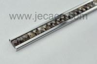 SUS with stone decor trim,tile trim,border
