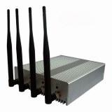 Bloqueadores de señal de teléfono 4 antenas y control remoto