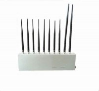10 Antenna 10 Band 3G 4G GPS WiFi LoJack UHF VHF All Signal Jammer