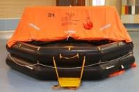 Marine Inflatable Throw Over-board Life Raft