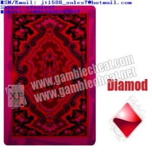 XF Gamble Rey mágico KEM Tarjetas de plástico para tarjetas marcados con rojo y negro...
